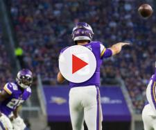 Kirk Cousins and the Vikings suffered a horrible defeat this weekend. [Image via USA Today Sports/YouTube]