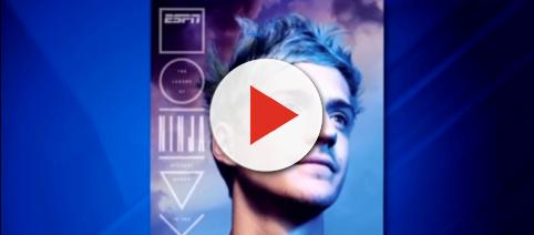 Ninja's the first video gamer to be on a cover. [Image source: Scarce/YouTube]