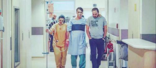 Bolsonaro pode ter alta de hospital na sexta-feira.