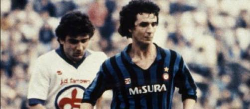 Eraldo Pecci ed Evaristo Beccalossi, Inter-Fiorentina della stagione 1982/83