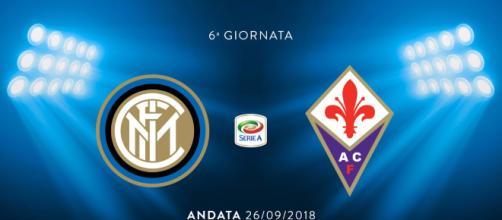 Inter- Fiorentina, anticipo della sesta giornata d'andata di Serie A (Leggenda Neroazzurra)