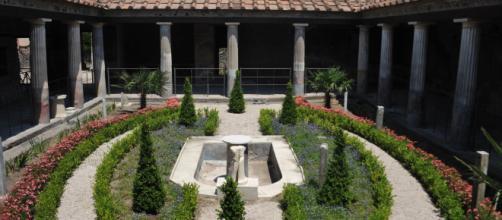 Pompei: riemerge la casa del giardino incantato