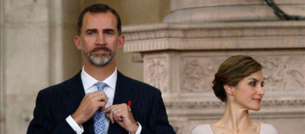 Felipe VI y lETIZIA EN IMAGEN DE ARCHIVO