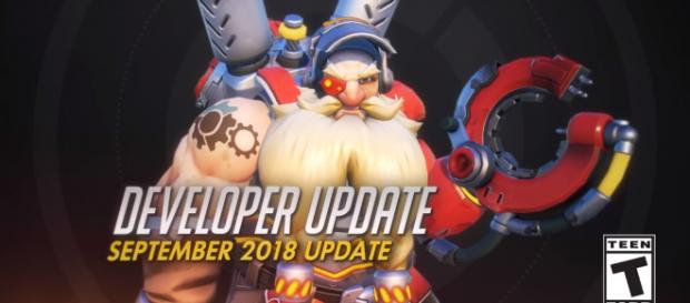 Jeff Kaplan announced new changes for Torbjorn in the latest development update [Image Credit: PlayOverwatch/YouTube screencap]