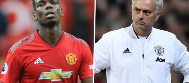 Pogba and Mourinho and a relationship far from great - goal.com