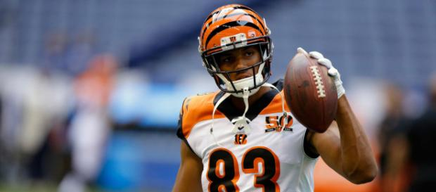 Bengals receiver Tyler Boyd. [Image Source: Keith Allison - Flickr]