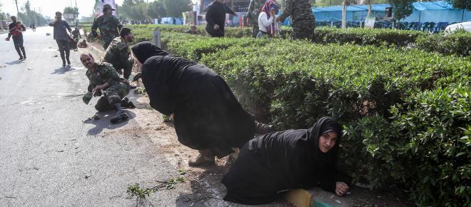 IRAN/ 29 personas muertas tras atentado terrorista en desfile