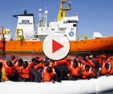 La nave incriminata Aquarius della Ong francese