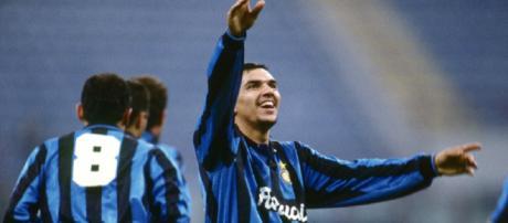 Ruben Sosa, autore di una doppietta in Inter-Fiorentina 3-1 del 25 settembre 1994