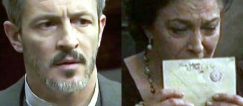 Anticipazioni Il Segreto: Emilia minaccia Alfonso, Francisca riceve una lettera da Maria