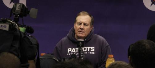 Bill Belichick and the New England Patriots are looking to avoid starting 1-3 for the first time since 2002. [Photo by WEBN-TV via Flckr]