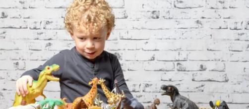 Crianças que são apaixonadas por dinossauros são mais concentradas. Imagem: site O Segredo.
