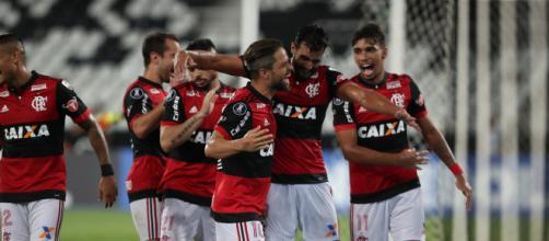 Flamengo segue confiante para semifinal da Copa do Brasil. (foto reprodução).