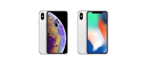 iPhone XS e iPhone X a confronto
