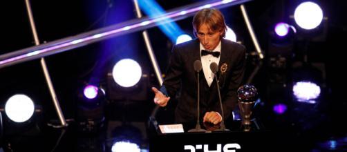 Luka Modric ganó el premio The Best a mejor jugador del mundo (- com.ar)