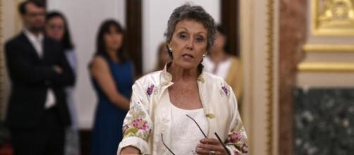 Rosa María Mateo en imagen del Congreso