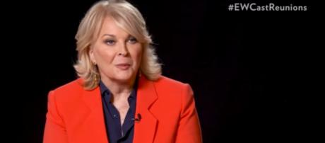 Candice Bergen and her co-stars know why now is the time for Murphy Brown to return. [Image source: PeopleTV-YouTube]