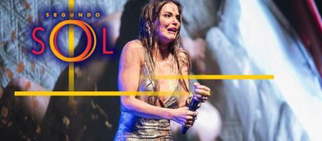 Romance entre Karola e Remy é revelado durante show