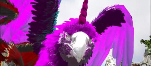 A Fabled Grifficorn in ARK. [Image source: KingDaddyDMAC/YouTube]
