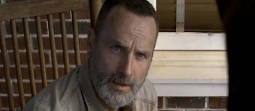 Andrew Lincoln who plays Rick Grimes on The Walking Dead will be directing a future episode. [Image TV Guide/YouTube]