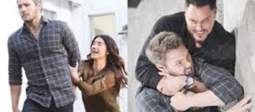 Beautiful, spoiler 1 al 6 ottobre: Liam tradito da Steffy lascia la moglie e picchia Bill