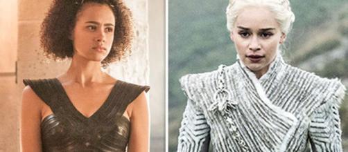 Daenerys Targaryen e Missandei