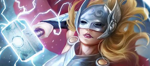 Jane Foster como a Poderosa Thor