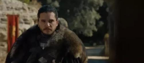Jon Snow em Game of Thrones da HBO