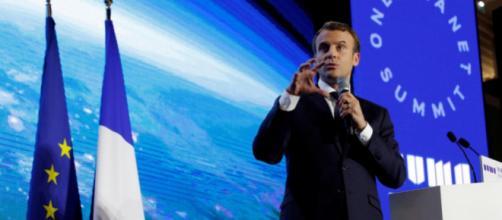 Macron sacré ' champion de la Terre et du climat '