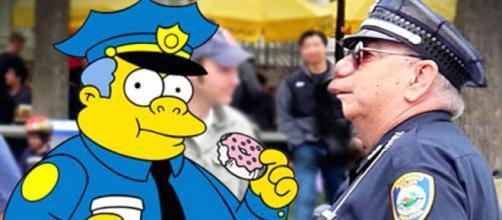 Militar de 'Os Simpsons' (Reprodução)