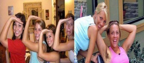 Mulheres que roubam a cena nas fotos dos amigos (Foto: Reprodução Internet)