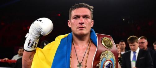 Oleksandr Usyk, campione mondiale indiscusso dei pesi massimi leggeri