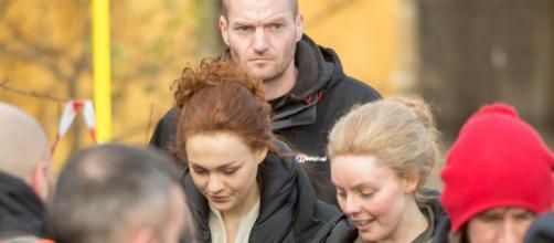 SPOILERS: Key cast members arrive in historic Fife village. Image ... - outlandishdram.com