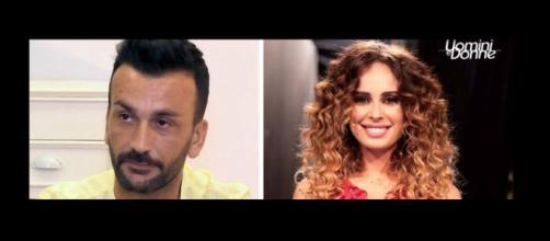 Uomini e donne: Nicola Panico e Sara Affi Fella.