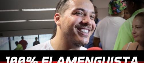 Wesley Safadão declara seu amor pelo Flamengo - YouTube - youtube.com