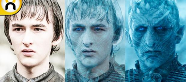 Brann e sua transformação no Rei da Noite. (foto reprodução).