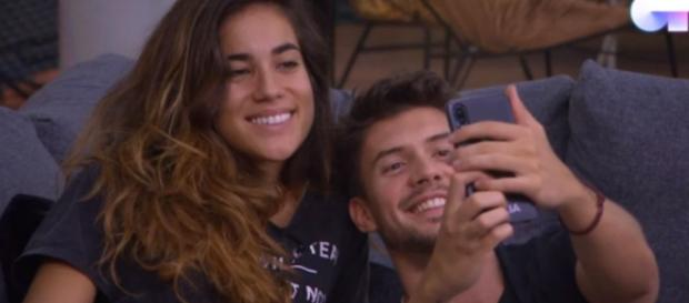 Carlos y Julia en la Academia de OT 2018