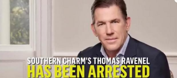 Former Bravo reality star Thomas Ravenel was arrested in South Carolina. [Image Source; E! News - YouTube]