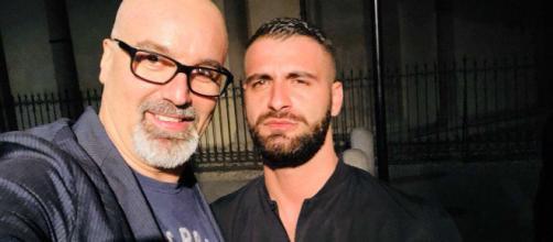 Giovanni Ciacci insieme al compagno Damiano Allotta