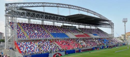 Lo Stadio Comunale 'Ezio Scida' di Crotone.