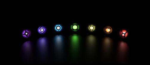 Os símbolos de cada espectro emocional.