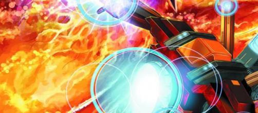 Tony Stark usando a Phoenix Killer.
