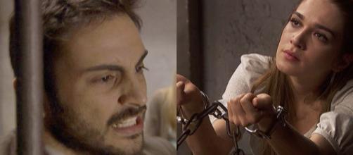 Trame, Il Segreto: Prudencio contento dell'arresto di Julieta, Saul vuole costituirsi