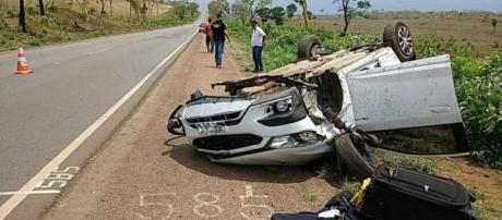 Delegado morre em rodovia logo após comemoração com colegas de trabalhos