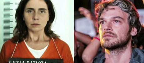 Luzia presa e Beto Falcão (Reprodução)