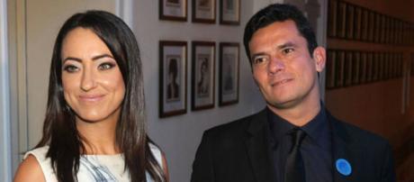 Sérgio Moro e sua esposa Rosângela (Foto: DCM)
