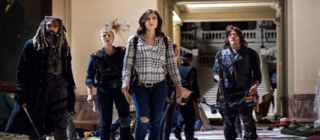 The Walking Dead season 9 will explore relations of the survivors. [image credits: AMC/YouTube screenshot]
