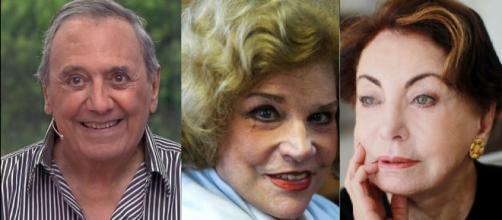 Agildo Ribeiro, Beatriz Segall e Tonia Carrero