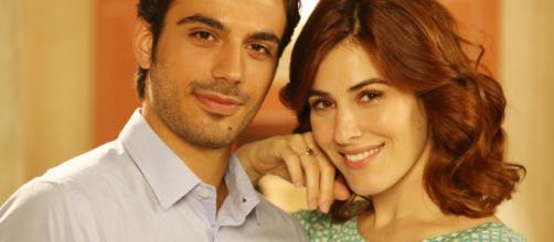 Che Dio ci aiuti: un'immagine di Gianmarco Saurino e Diana Del Bufalo