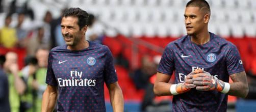Gianluigi Buffon et Alphonse Areola ont une bonne entente, d'après l'ex gardien de la Juventus de Turin